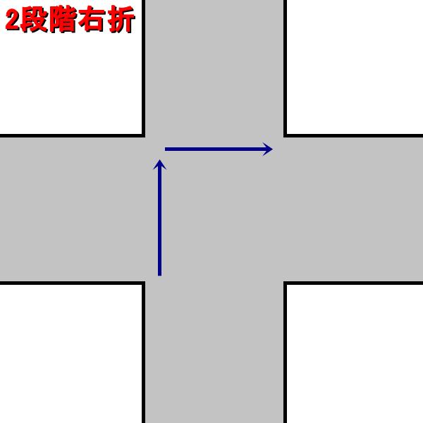 2段階右折