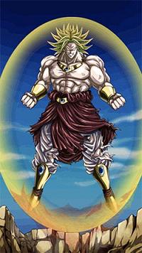 [不滅の最凶戦士]伝説の超サイヤ人ブロリー