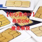【初心者の方向け】格安SIMの仕組みから移行方法まで徹底解説します【通信費節約】