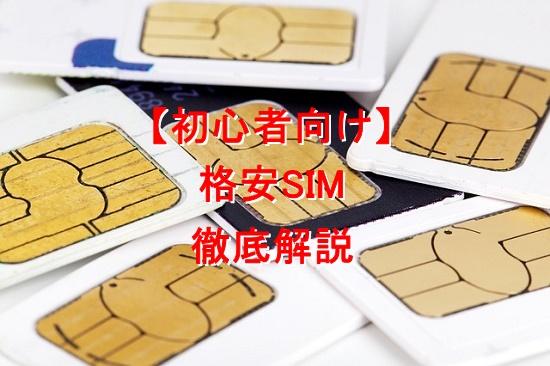 【初心者の方向け】格安SIMの仕組みから始め方まで徹底解説します【通信費節約】